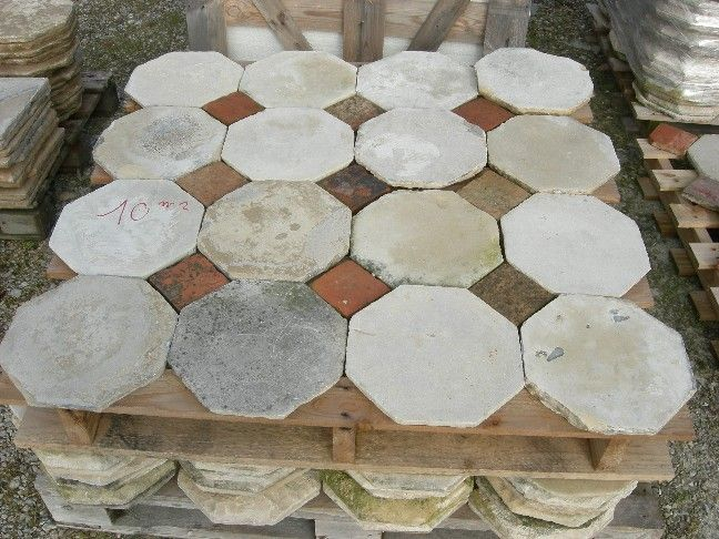 Selling Of Quarry Tile Old Terracota Floor Tile French Stock