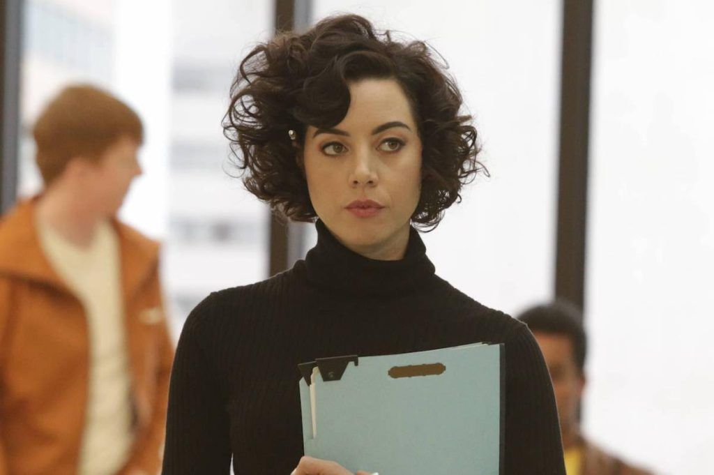 Performer Of The Week Legion S Aubrey Plaza Hair Inspiration How To Curl Short Hair Curly Hair Styles