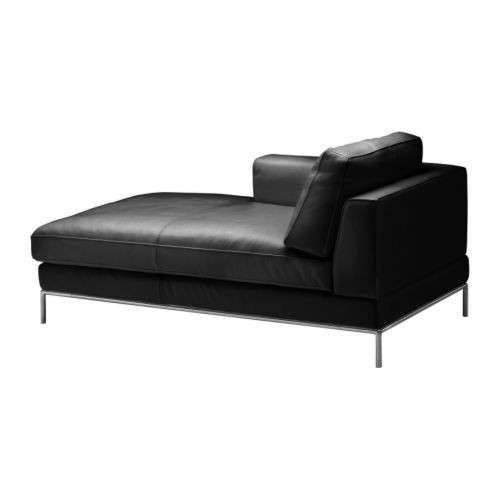 Sectional Sofas Chaise Longue Le Corbusier e Ikea Chaise longue in pelle nera