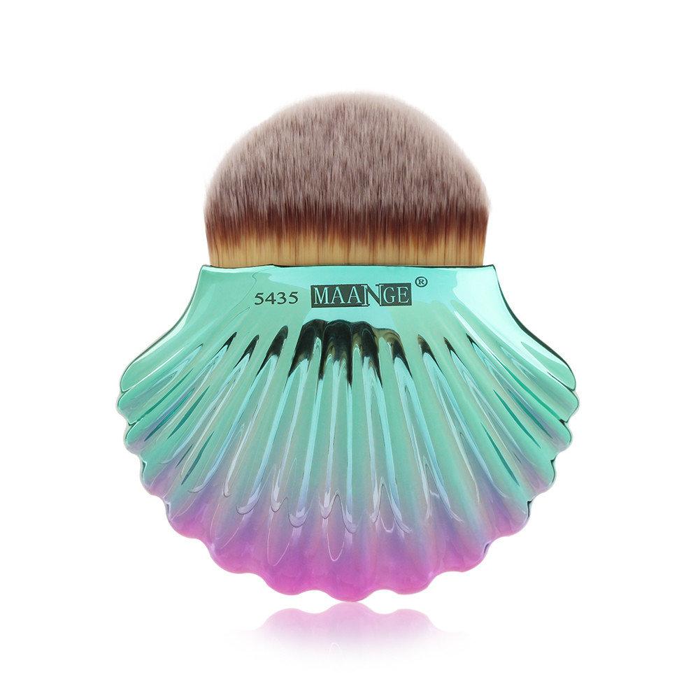 1Pc Big Shell Powder Brush Foundation Makeup Brushes Women Cosmetic Tools