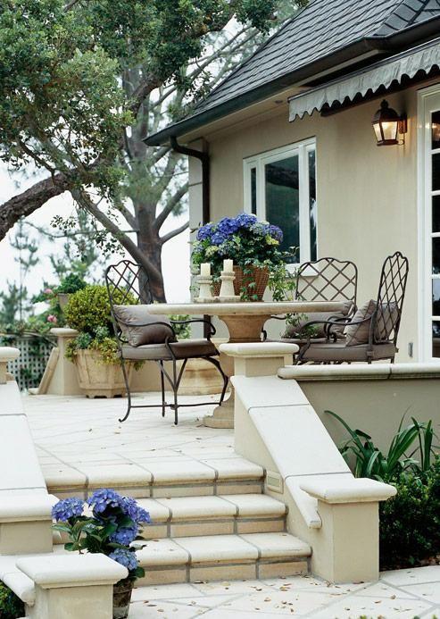 Disfrutando del jardin.   Muebles de jardin y jardines   Pinterest ...