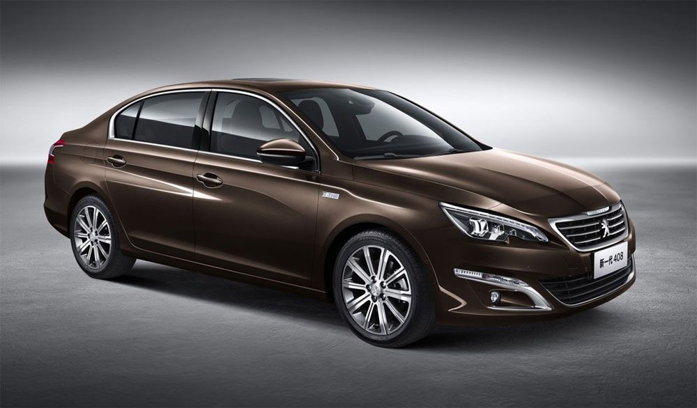 New Release Peugeot 408 2015 Review Front Side View Model