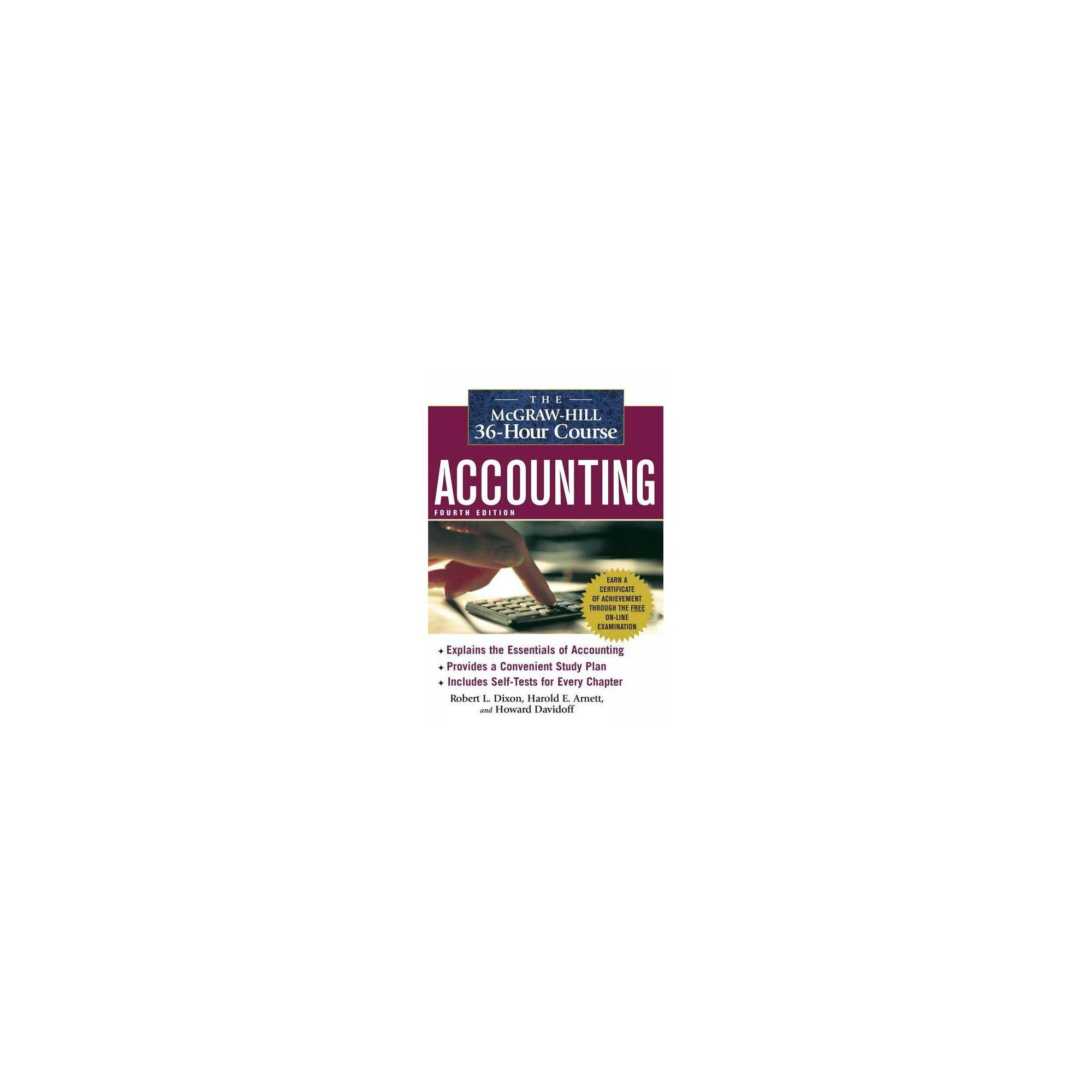 The Mcgraw Hill 36 Hour Course Accounting