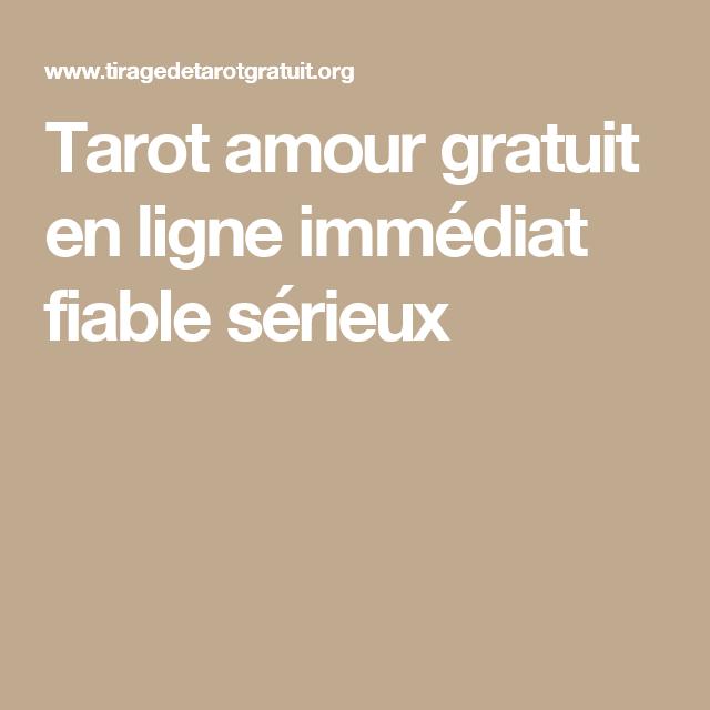 tarot amoureux gratuit et serieux