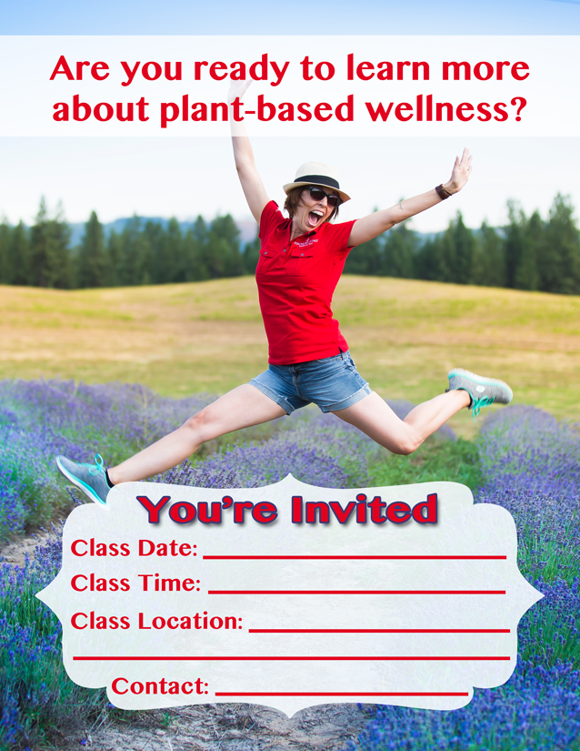 Essential Oil Class Invitation Flyer Free To Download And Use