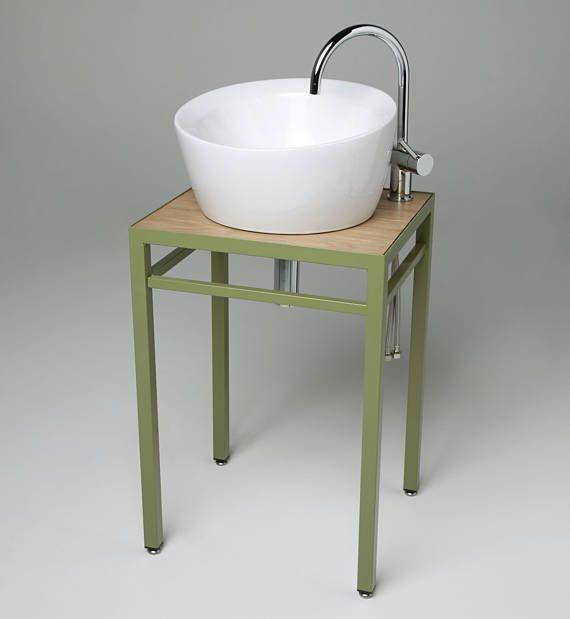 Homemade Concrete Wash Basin