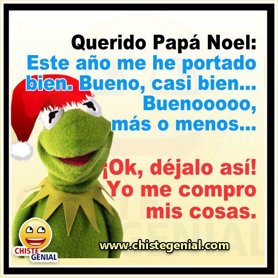 Chistes Navidenos Carta A Papa Noel Chiste Humor Chistegenial Funny Spanish Jokes Funny Spanish Memes Humor