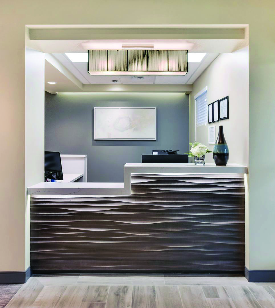 How To Decorate A Reception Desk Tall Exclusive On Home