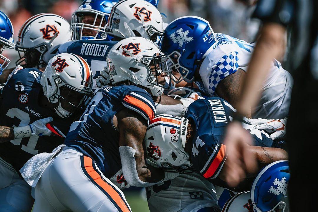 Auburn Football On Instagram 1st Half Frames In 2020 Auburn Football Football Auburn