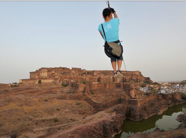 Not open when we usually go - but next time in Jodhpur not in the mid-summer - Flying Fox tours --   Jodhpur Photos
