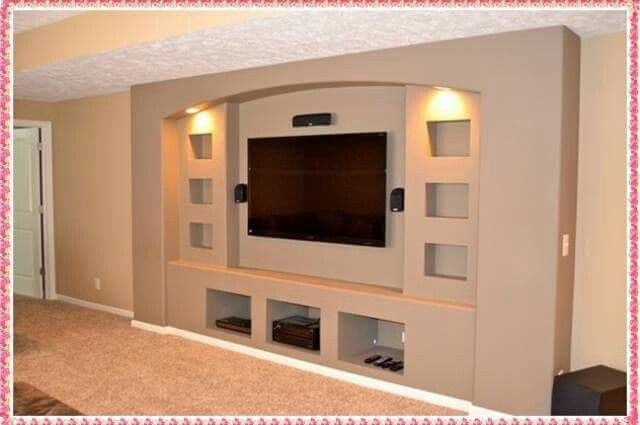 pin by maria elena coronel flores on casa vardagsrum Small Home Theater Rooms Small Basement Home Theater