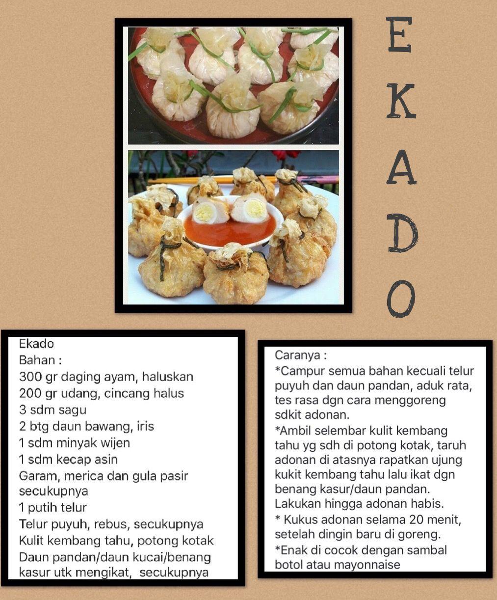 Pin Oleh Babimini Babiminis Di My Recipe Resep Resep Masakan Masakan