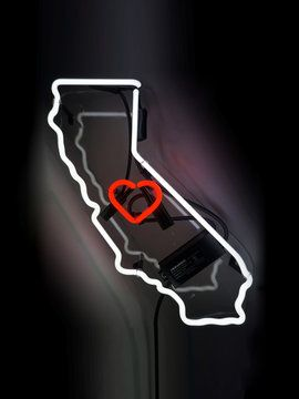 California Neon Sign from Neon Signs