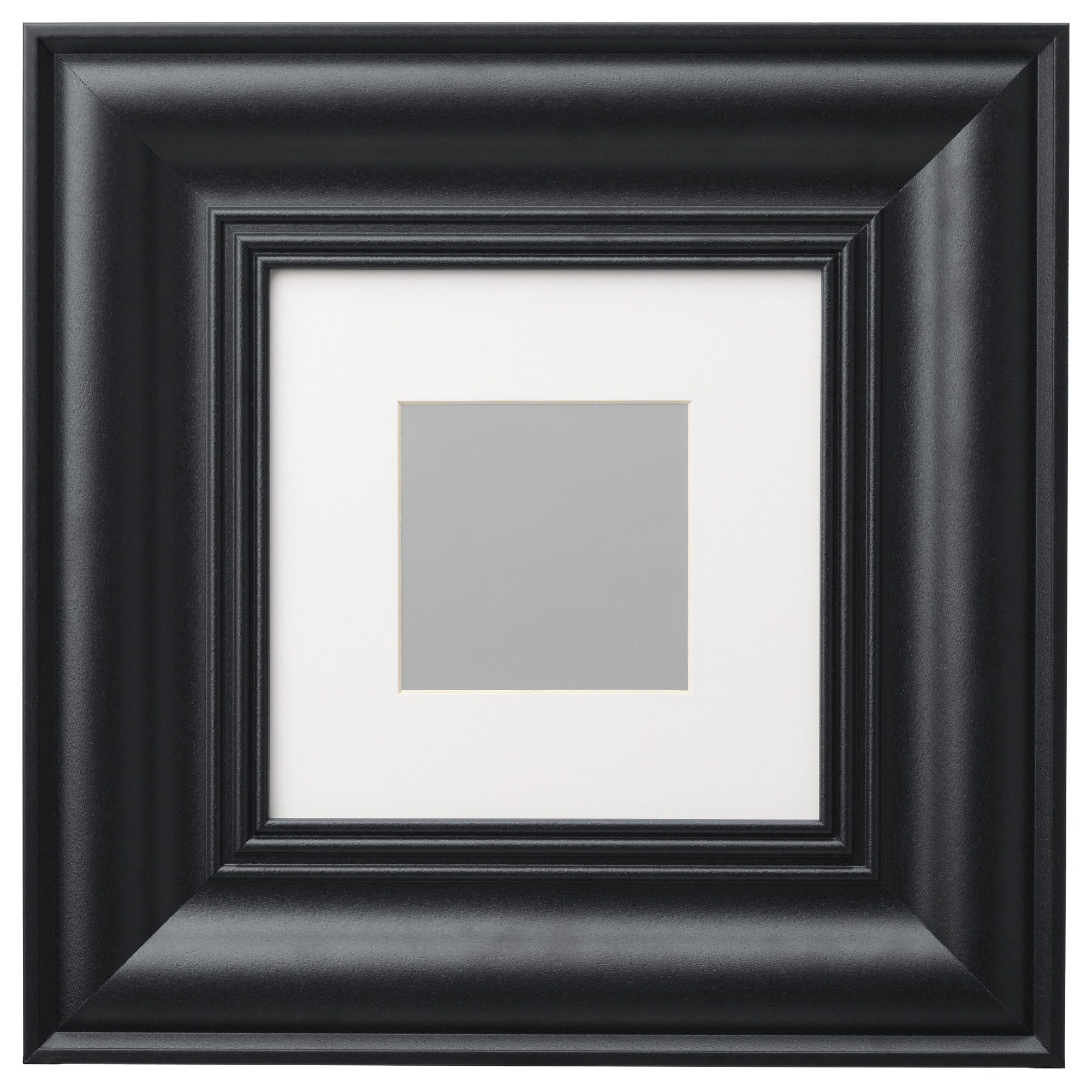 IKEA - SKATTEBY, Frame, Available in different sizes.Can also be used without the mat for a larger picture.Front protection in durable plastic makes the frame safer to use.The frame is made of plastic, which makes it strong, lightweight and easier to handle.