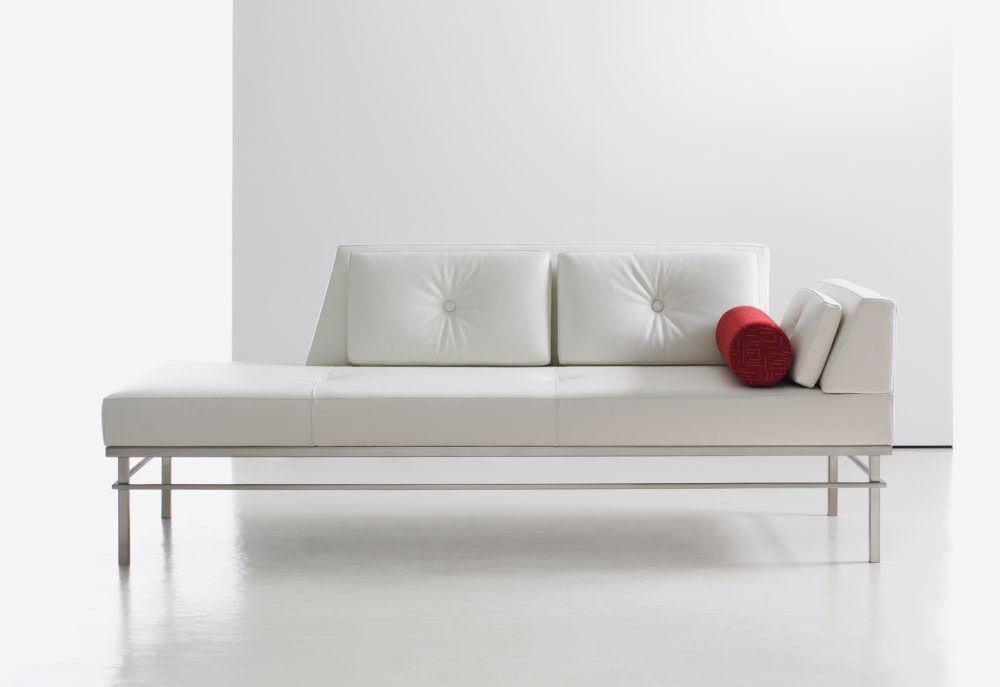 White Lounge Sofa Back Bench | Bedrooms | Sofa home, White ...