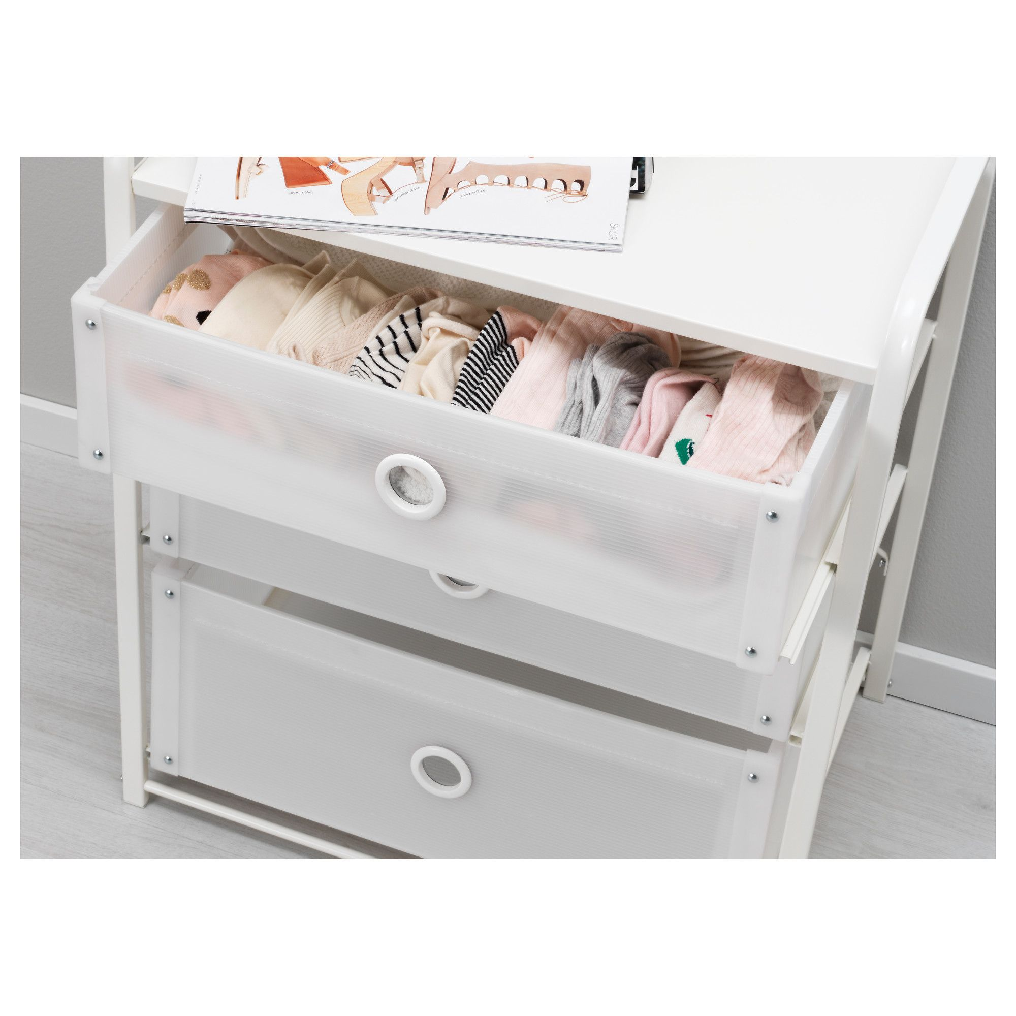 IKEA - LOTE 3-drawer chest white in 2019   Products   Ikea