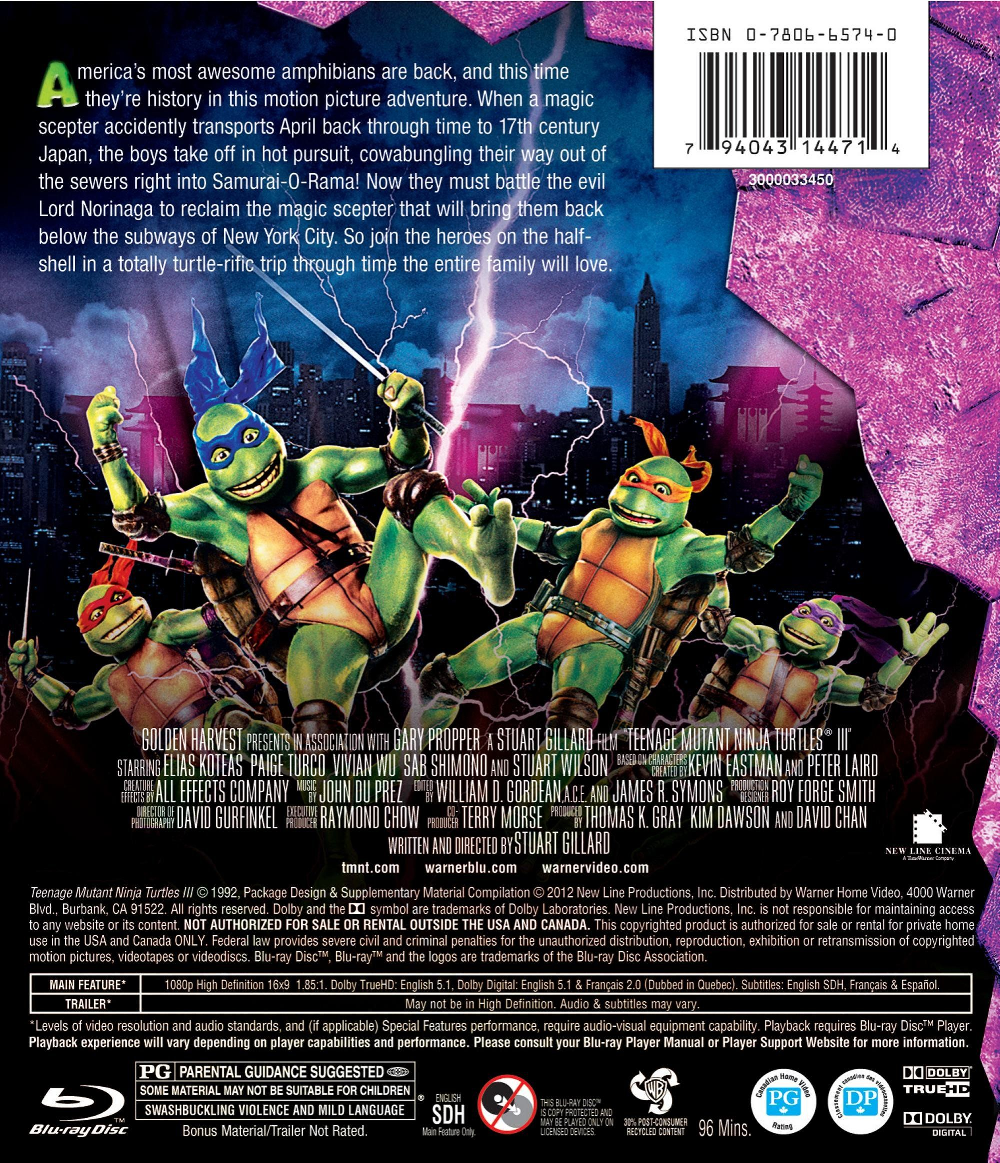 Teenage Mutant Ninja Turtles 3 Edizione Stati Uniti Usa Blu Ray Ad Turtles Edizione Teenage Mutant Ninja Turtles Alternative Movie Posters Ninja Turtles