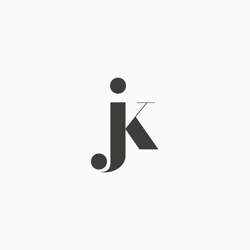 design by http ottocliman it jk monogram logo design graphic rh pinterest com Clothing Company Logos Sports Clothing Logos