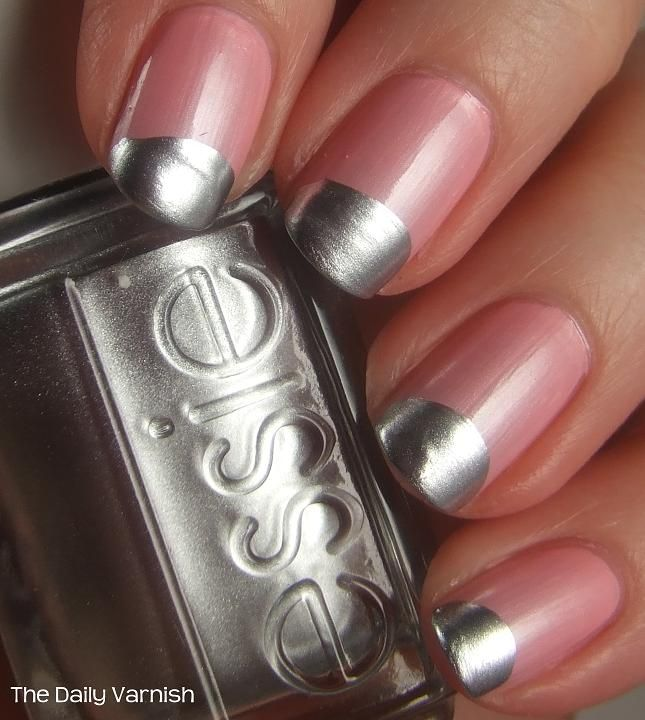 Jessica Biel Nail Art Essie | Re-Pin Nail Exchange | Pinterest ...