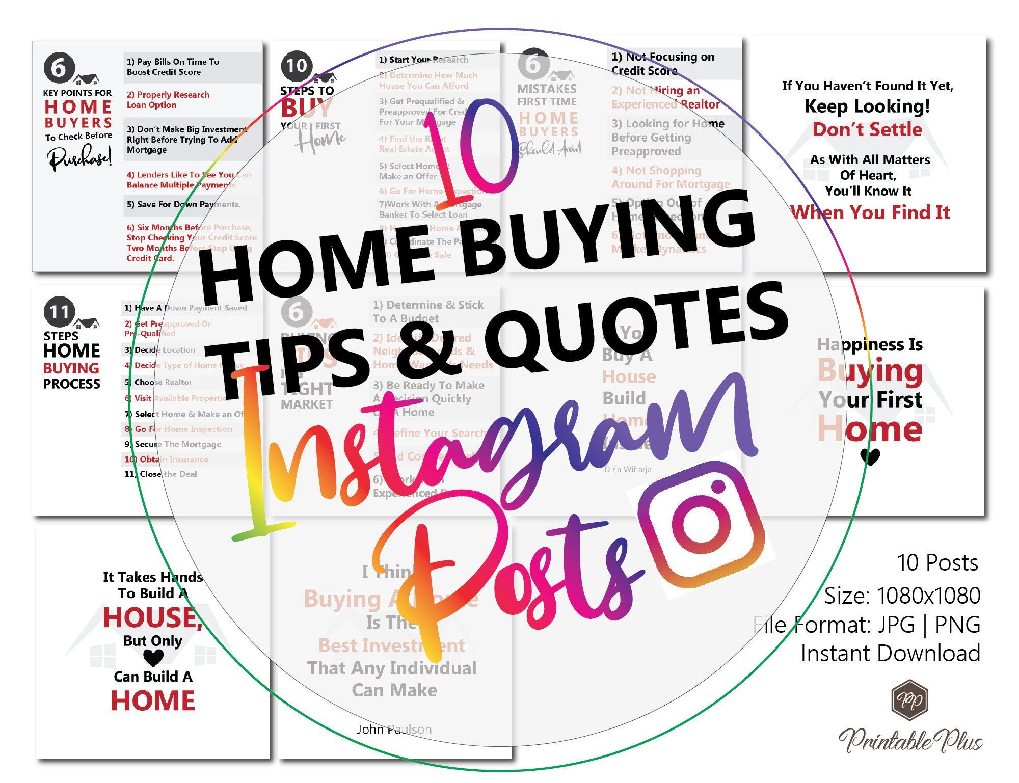 Real Estate Marketing 10 Real Estate Instagram Post Ideas Real