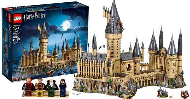 The 6 020 Piece 71043 Hogwarts Castle Is Now On Sale As Lego S Biggest Ever Harry Potter Set News Harry Potter Lego Sets Hogwarts Castle Lego Harry Potter