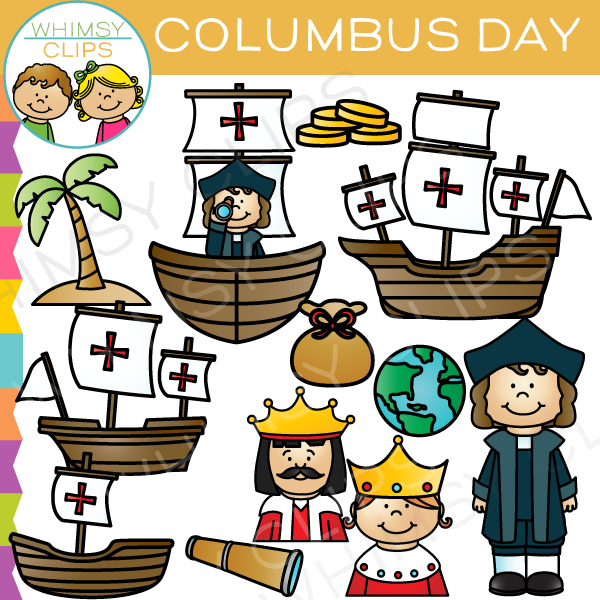 Columbus Day Clip Art Clip Art Happy Columbus Day Holiday Clipart