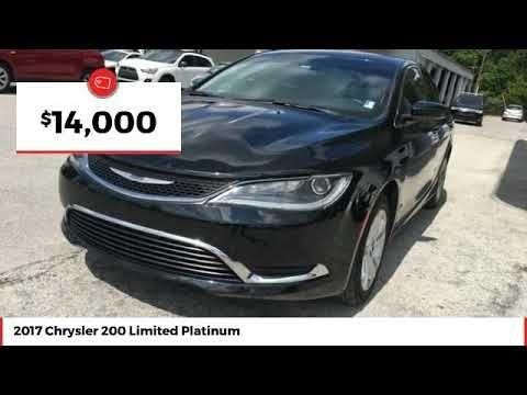 2017 Chrysler 200 Limited Platinum Used Hn507781 Videos