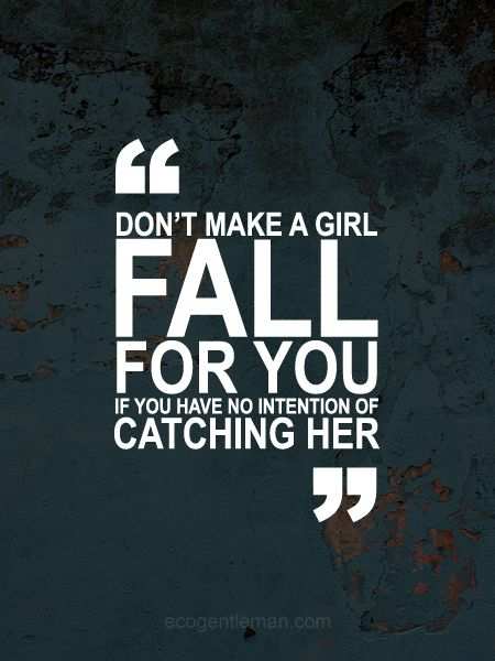 Flip it for lily and maylin. Don't fall for a guy if you don't have confidence he will catch u!