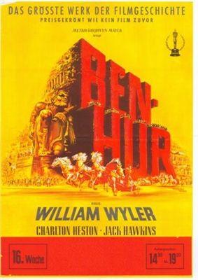 Ben-Hur 1959 Poster #benhur1959