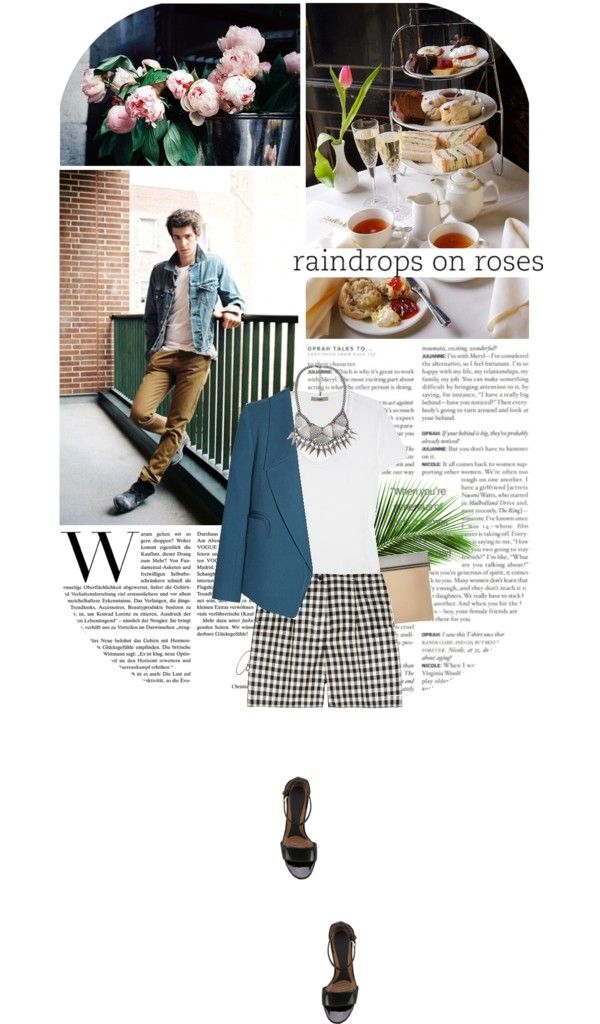 """""""Raindrops On Roses"""" by fashion-confidential ❤ liked on Polyvore"""