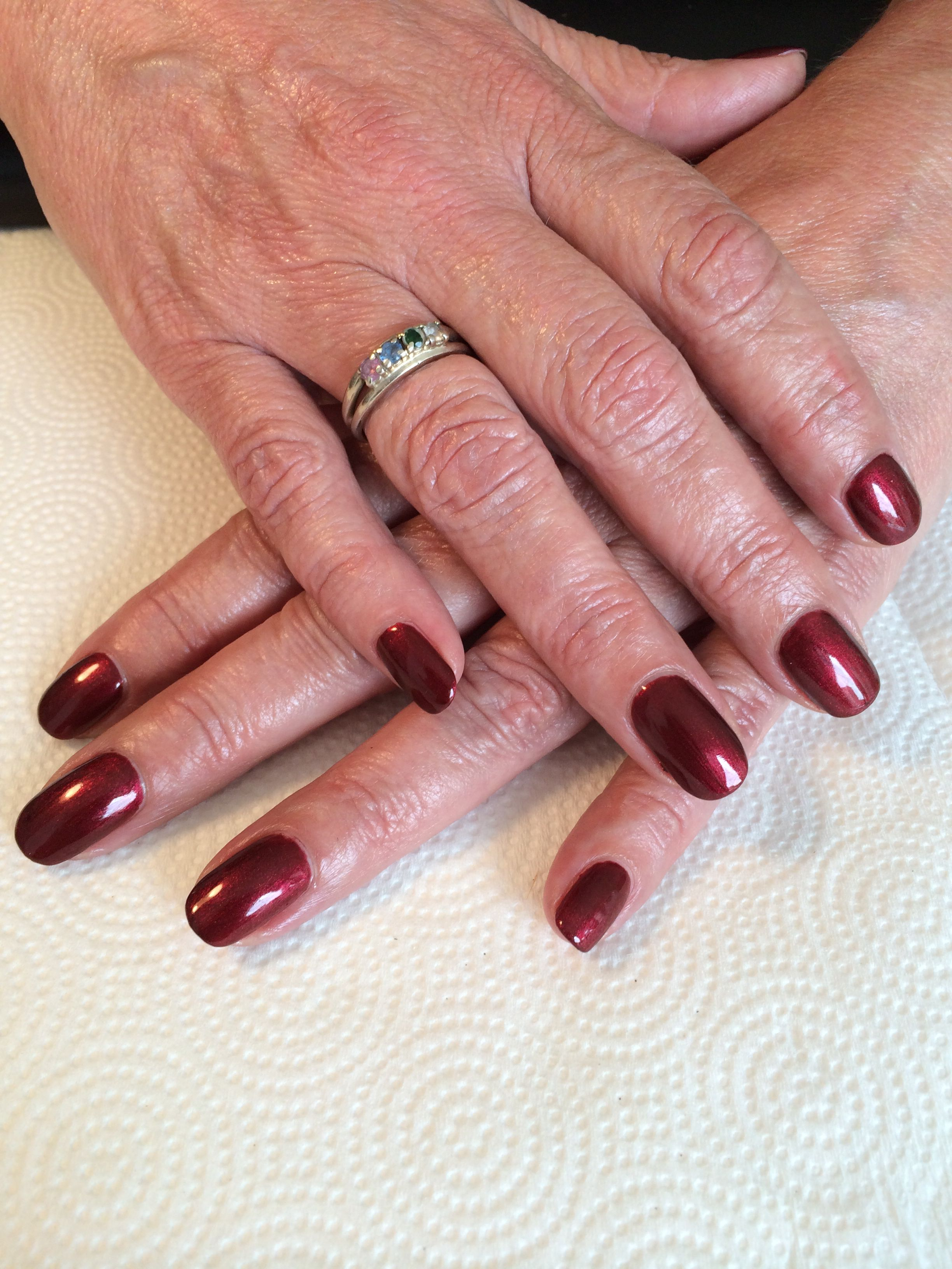 Shellac nails by Cheryl
