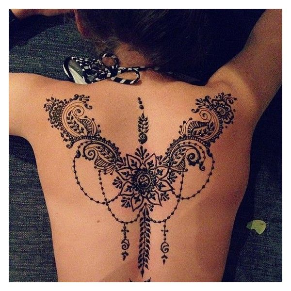 Pin By Brittany Eldredge On Polyvore Henna Tattoo Designs