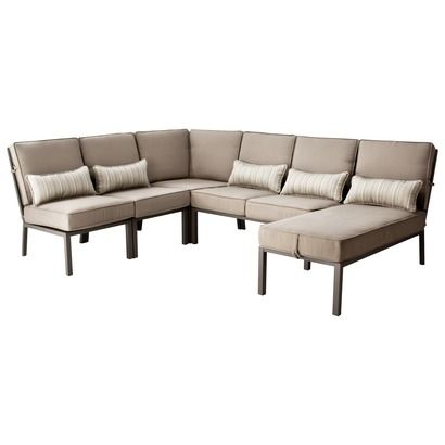 Target Home Lagos Metal Patio Sectional Seating Furniture Collection Outdoor Furniture