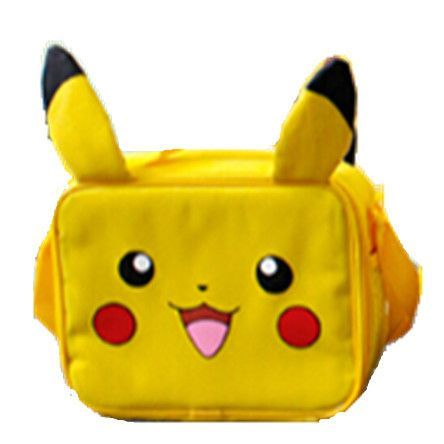 f65cba90ac4a Pokemon Monster Yellow Pokemon Pikachu Small Large School Backpack Book Bag  with Ear for Children Christmas Gift 2017 new