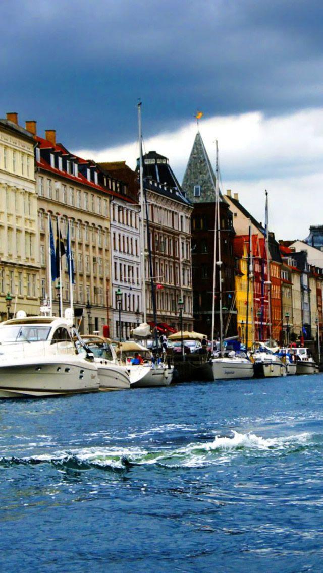 The Beauty Of Copenhagen IPhone 5S Wallpaper