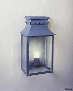French Box Lanterns Flush Wall Lights Period Exterior