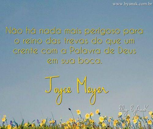 Pin Em Frases Da Joyce Meyer
