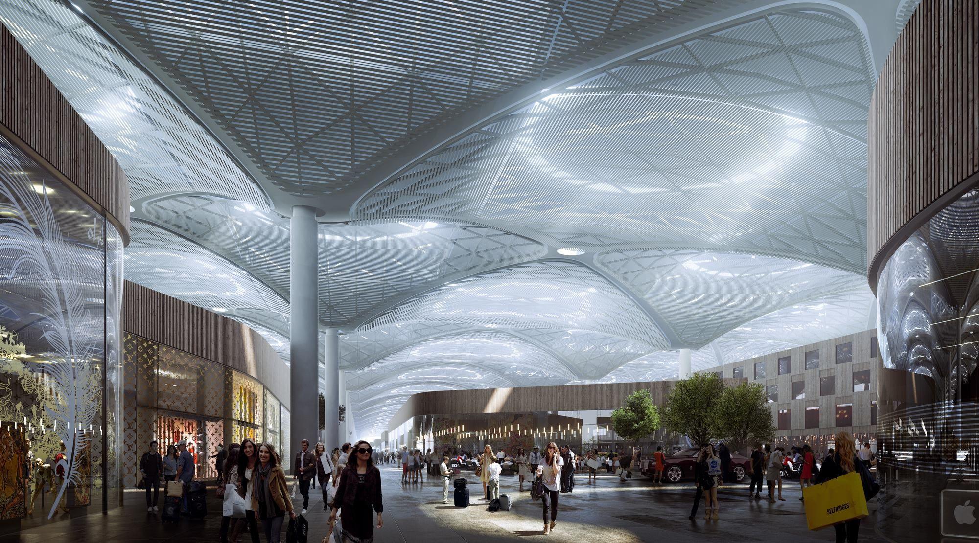 Grimshaw Architecture Concept Architecture Architecture Visualization