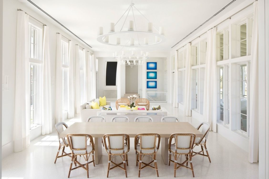 Dining Room At Vero Beach Florida Compound