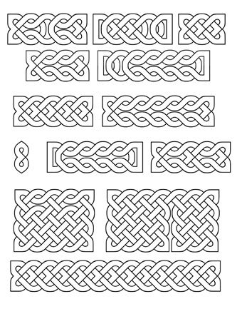 image regarding Printable Celtic Knot Patterns named Printable Celtic Types: St. Patricks Working day Percentage Todays