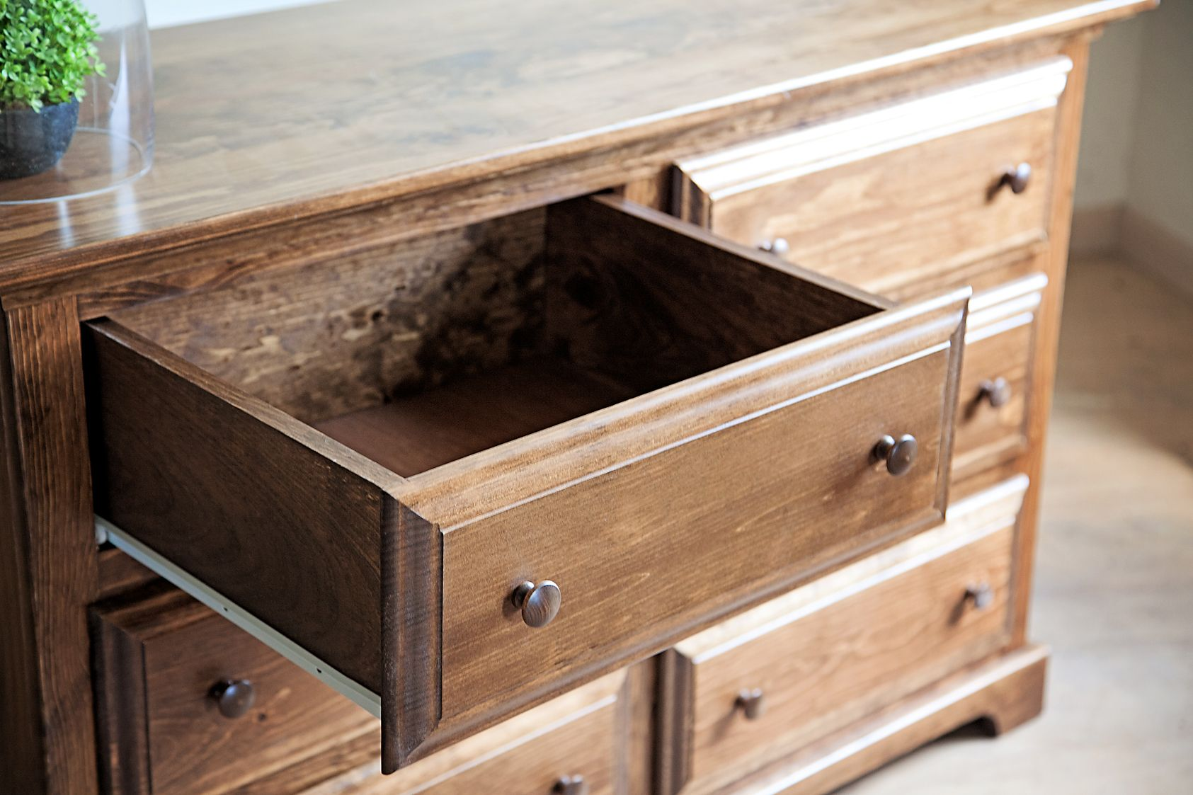Store Your Clothes In This Beautiful Six Drawer Dresser # Peacefulvalleyfurniture