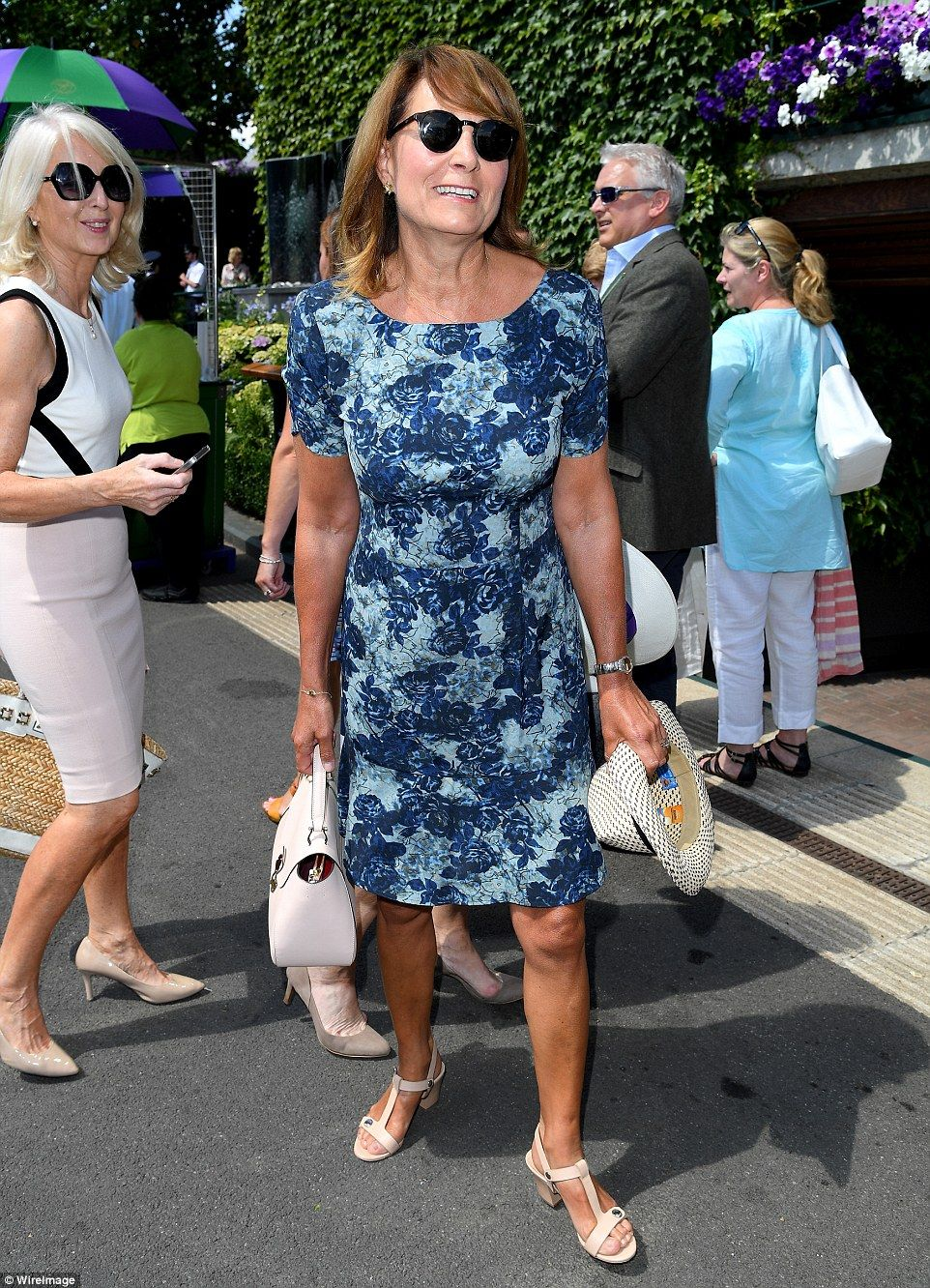Carole Middleton keeps her cool at Wimbledon | Carole middleton