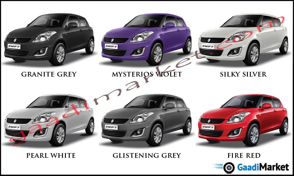 Swift New Colours Maruti Colour Options Pinterest Swift And Cars