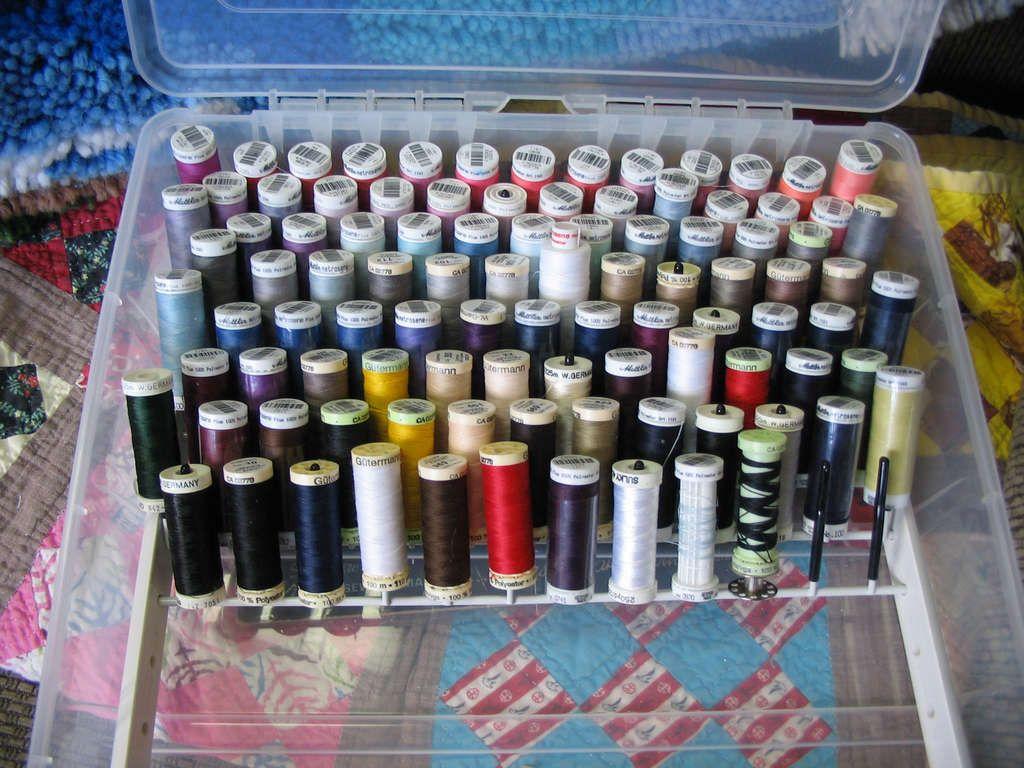 Thread Organizer Box For Skinny Spools Sulky Gutermann