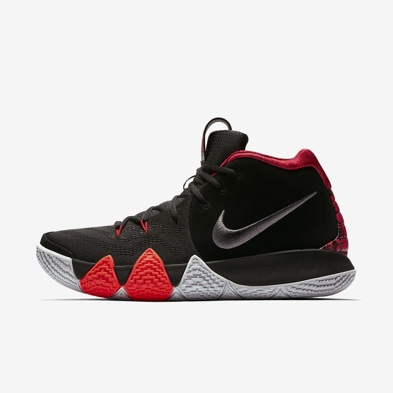 best service 86f1f dcbcf Nike Kyrie 4 Black White 943806-002 Release Date + Photos