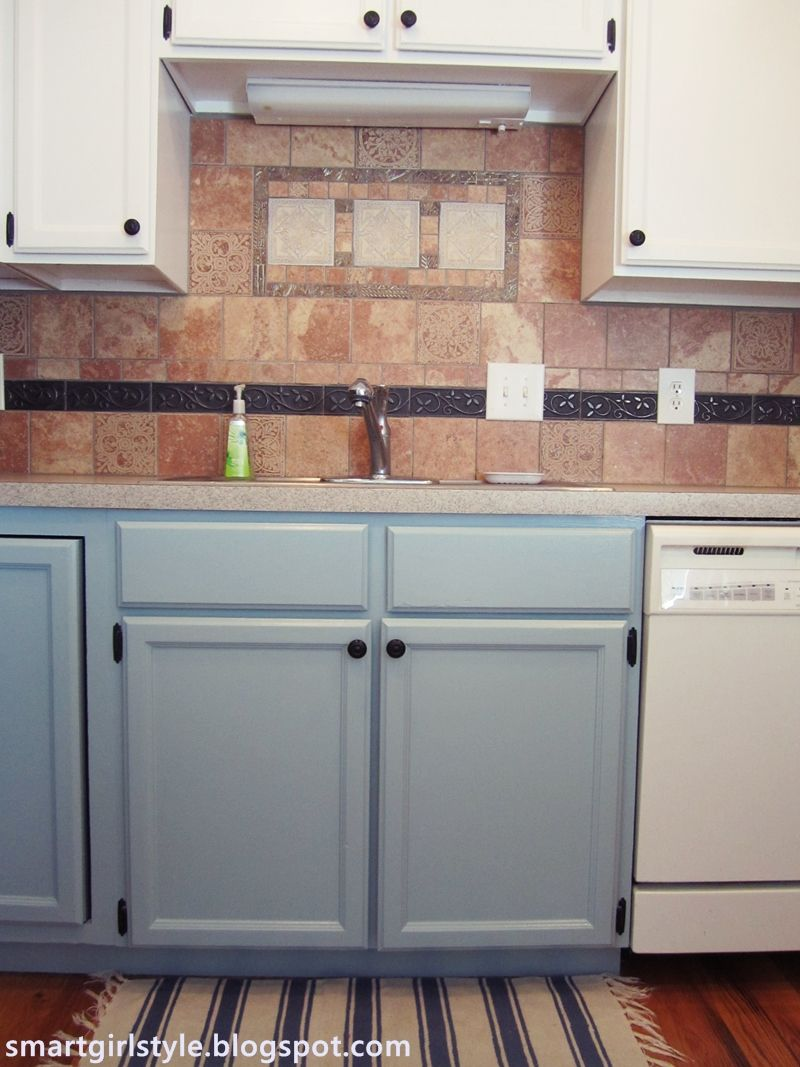 Cabinet For Kitchen Appliances Buxton Blue Kitchen Cabinets White Appliances Kitchen