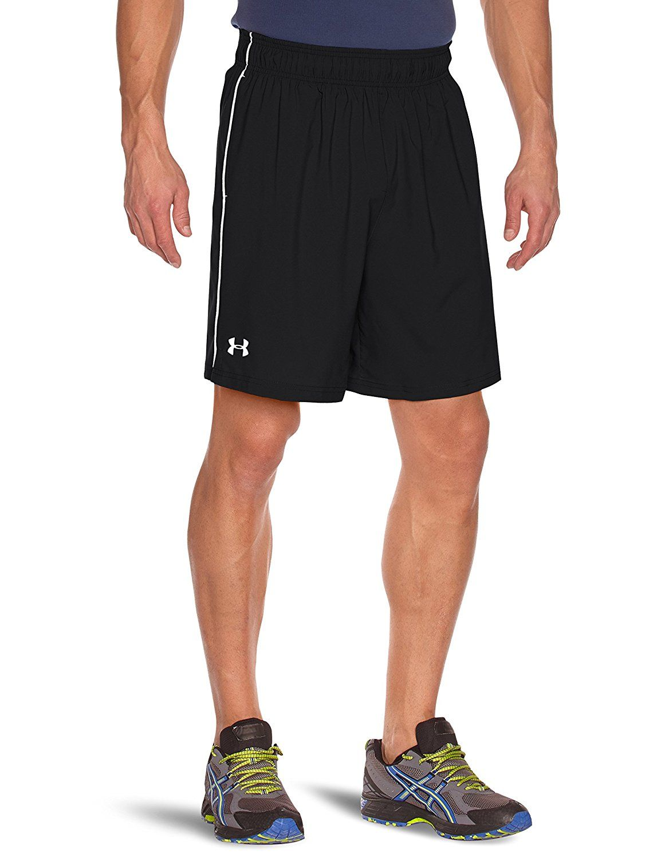 b4347e8c84 Under Armour Men's HeatGear Mirage 8-inch Shorts - Black/White, All sizes