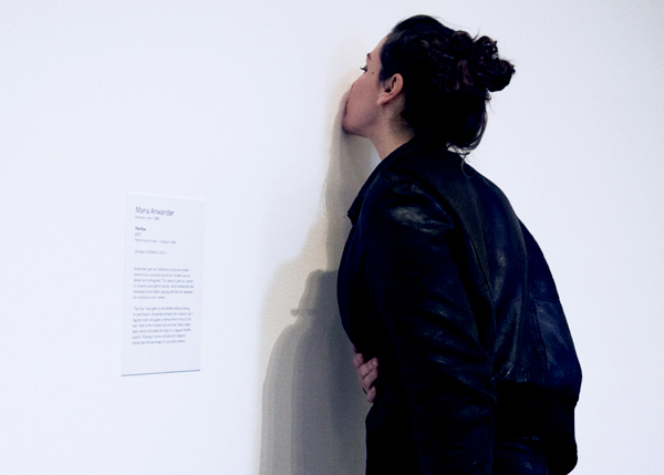 The Kiss, 2007/2010 byMaria Anwander