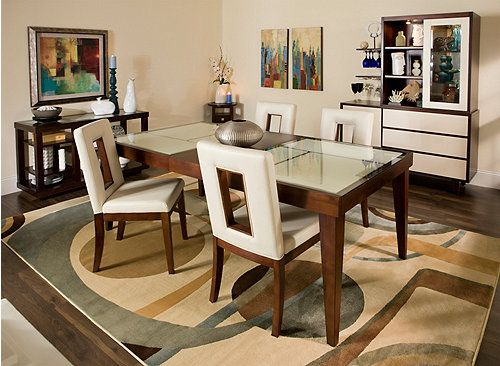 Create A Contemporary Dining Room Or Kitchen You'll Love With This New Raymour And Flanigan Dining Room Set Decorating Inspiration