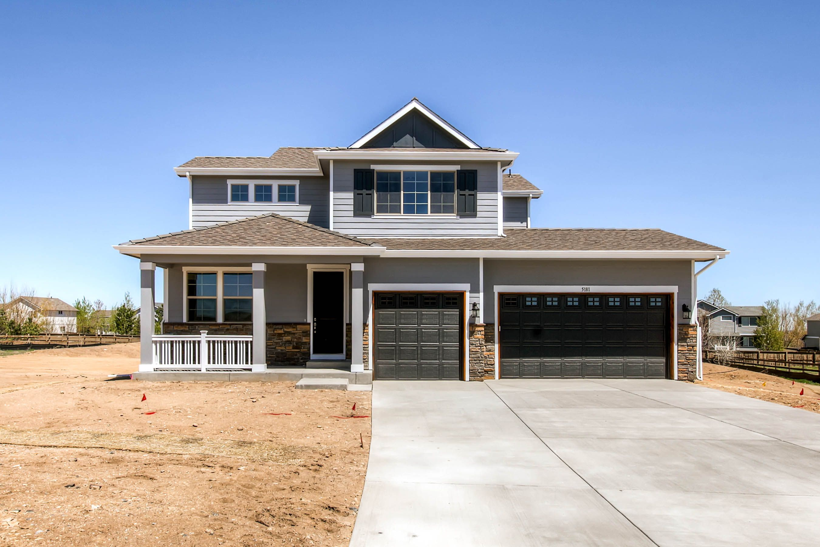 The Everly Castle Rock Co 4 Bed 3 Bath 1 Fireplace 3 Car